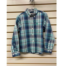 Cinch TODDLER MTW7061257 GREEN PLAID SHIRT CINCH