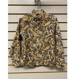 Cinch TODDLER MTW7061247 YELLOW PAISLEY SHIRT CINCH