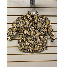 Cinch TODDLER MTW7062247 YELLOW PAISLEY SHIRT CINCH