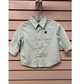 Cinch TODDLER MTW7062250 GREEN SHIRT CINCH