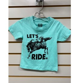 Cinch TODDLER MTT7672041 GREEN T-SHIRT CINCH