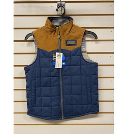 Cinch BOY'S MWV7930001 NAVY VEST CINCH
