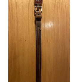 M&F 3D KIDS BELT BROWN