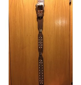 Bezjack NOCONA MEN'S TOOLED AND LACED BELT