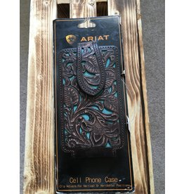 ARIAT TURQUOISE UNDERLAY CELL PHONE CASE