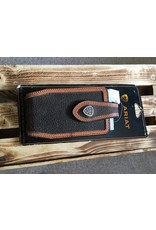 ARIAT ROWDY LEATHER CELL PHONE CASE