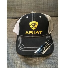 ARIAT LOGO BLACK MEN'S BALL CAP