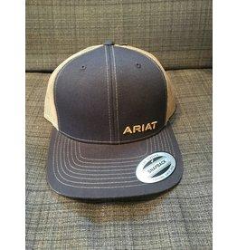 ARIAT NAVY/TAN MEN'S BALL CAP
