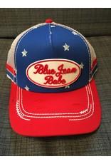 CRUEL DENIM BLUE JEAN BABE BLUE/RED GIRLS BALL CAP