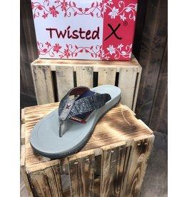 Twisted X LADIES TWISTED X DARK GREY WSD0037 SHOES  7.0