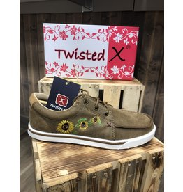Twisted X LADIES TWISTED X BOMBER/SUNFLOWER WWCA0035 SHOES 9.5