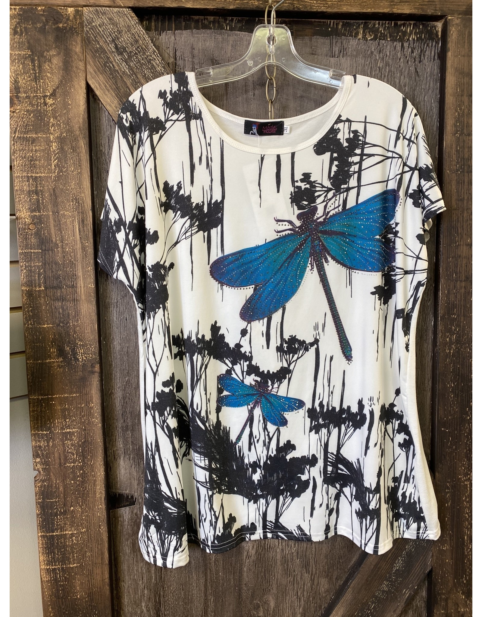 LADIES A21445# DRAGONFLY TOP