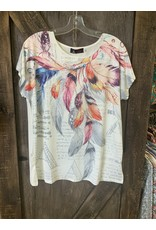LADIES A21621 FEATHER TOP