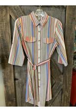 LADIES DRESS W/BELT