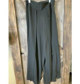 LADIES BLACK FLOWY DRESS PANT