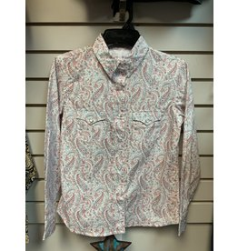 GIRL'S R6S5746 CORAL SHIRT
