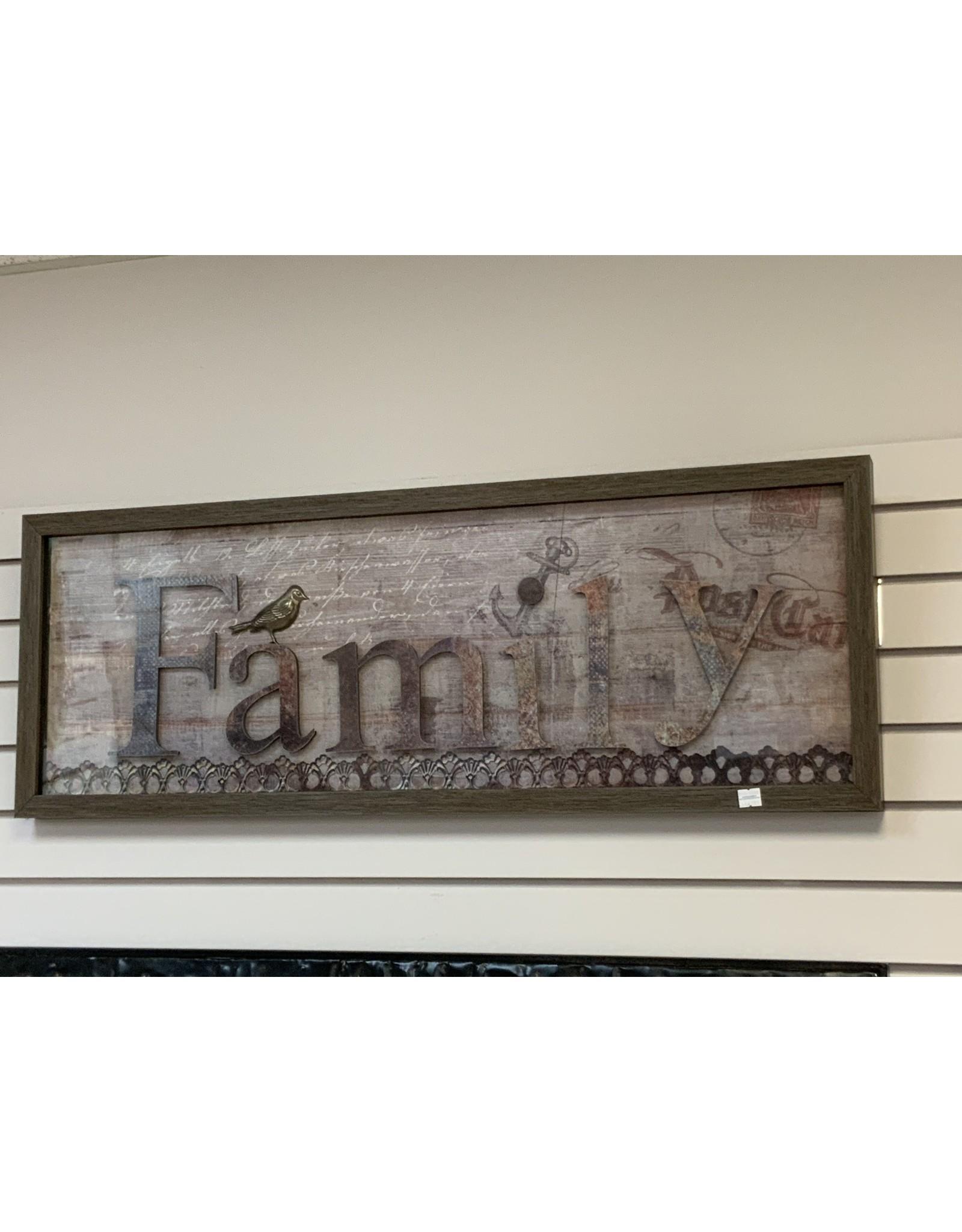 FAMILY FRAMED ART