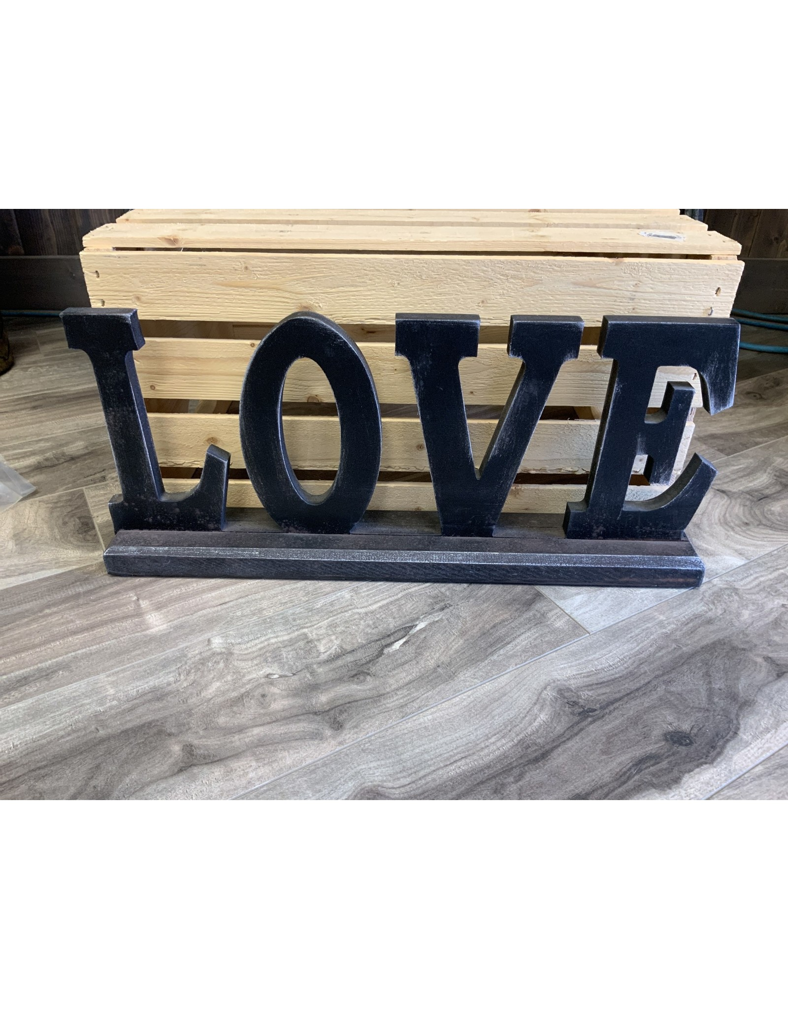 """""""LOVE"""" WOODEN LETTERS"""