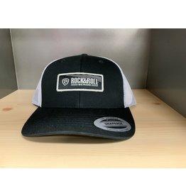 ROCK&ROLL BLACK/WHITE SNAP BACK MEN'S BASEBALL CAP