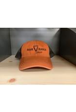 ORANGE BAR V RANCH HAT