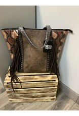 ANGEL RANCH FRINGED TOTE PURSE