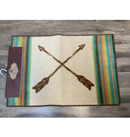HiEnd Accents RUG WITH ARROW DESIGN