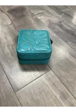 JEWELRY TRAVEL BOX TURQOISE