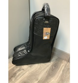 JUSTIN BOOT BAG BLACK W/TOOLING