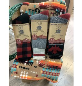 COTTAGE COLLECTION THERMAL HEAT SOCKS