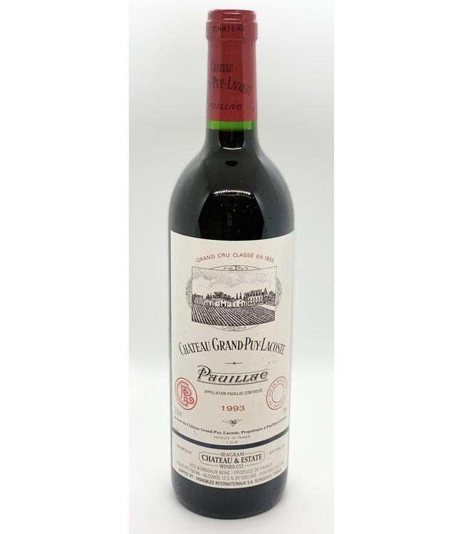 CHATEAU GRAND PUY LACOSTE PAUILLAC 1993 750ML