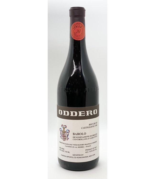 BAROLO ODDERO ROCCHE DI CASTIGLIONE BAROLO 1996 750ML