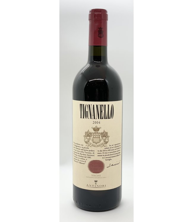 ANTINORI TIGNANELLO 2004 750ML