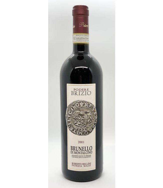 PODERE BRIZIO BRUNELLO DI MONTALCINO 2001 750ML