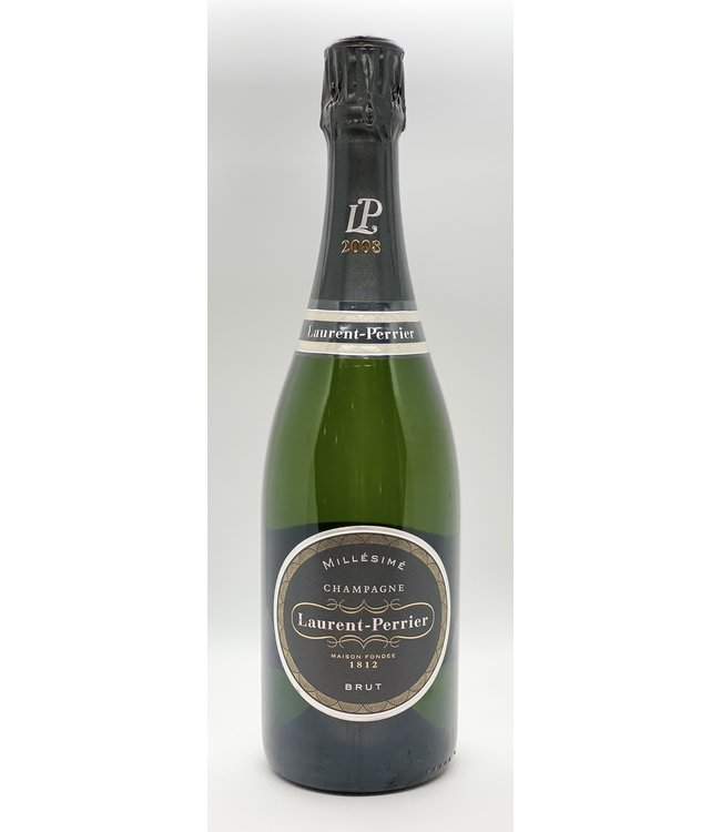 CHAMPAGNE LAURENT-PERRIER BRUT CHAMPAGNE 2008 750ML