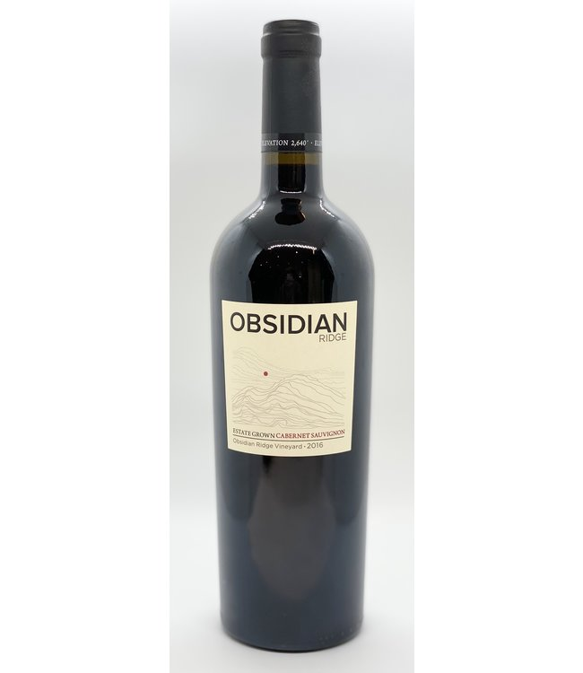 OBSIDIAN RIDGE ESTATE CABERNET SAUVIGNON 2016 750ML