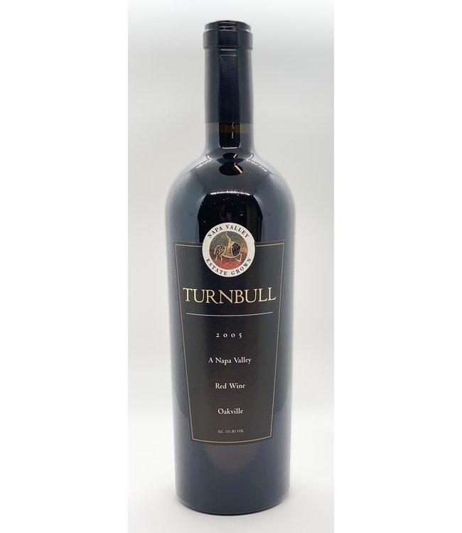 TURNBULL ESTATES RED WINE OAKVILLE 2005 750ML