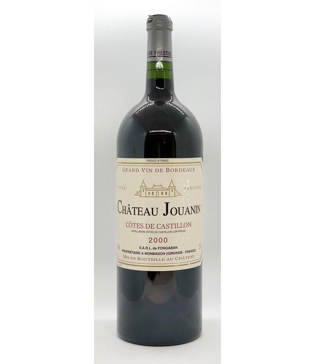 CHATEAU JOUANIN COTES DE CASTILLON 2000 1.5 LITER