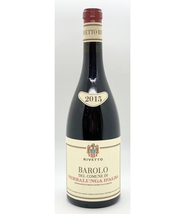 BAROLO RIVETTO BAROLO SERRALUNGA D'ALBA 2015 750ML