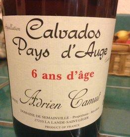 Spirits Calvados, Pays d'Auge, '6 ans d'age, ' Camut