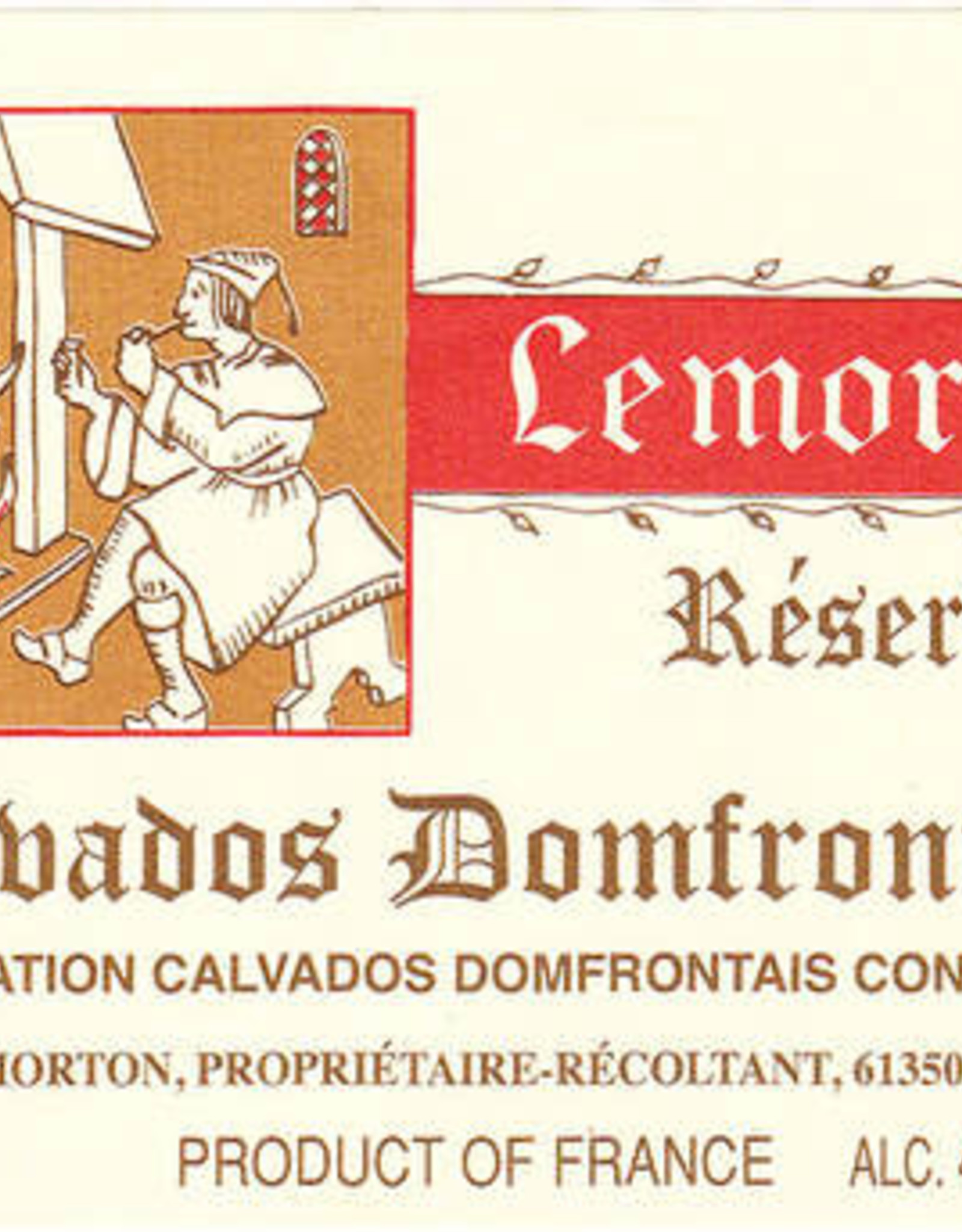 Spirits Calvados Domfrontais, SELECTION, Lemorton