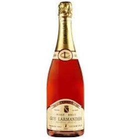 Champagne Rose Champagne, Vertus Brut Rose 1er Cru, Guy Larmandier NV