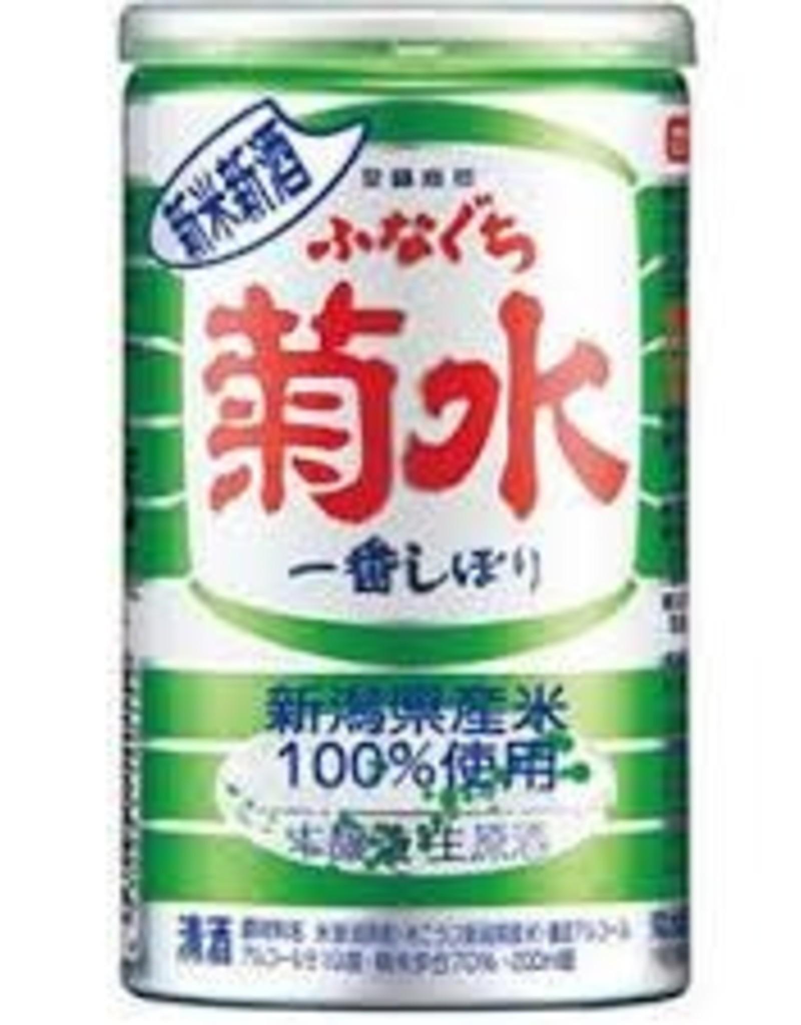 Sake Shinmai Shinshu Funaguchi Kikusui NV  (200 ml Can)