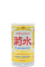 Sake Honjozo Sake, Funaguchi Kikusui NV (200 ml Can)