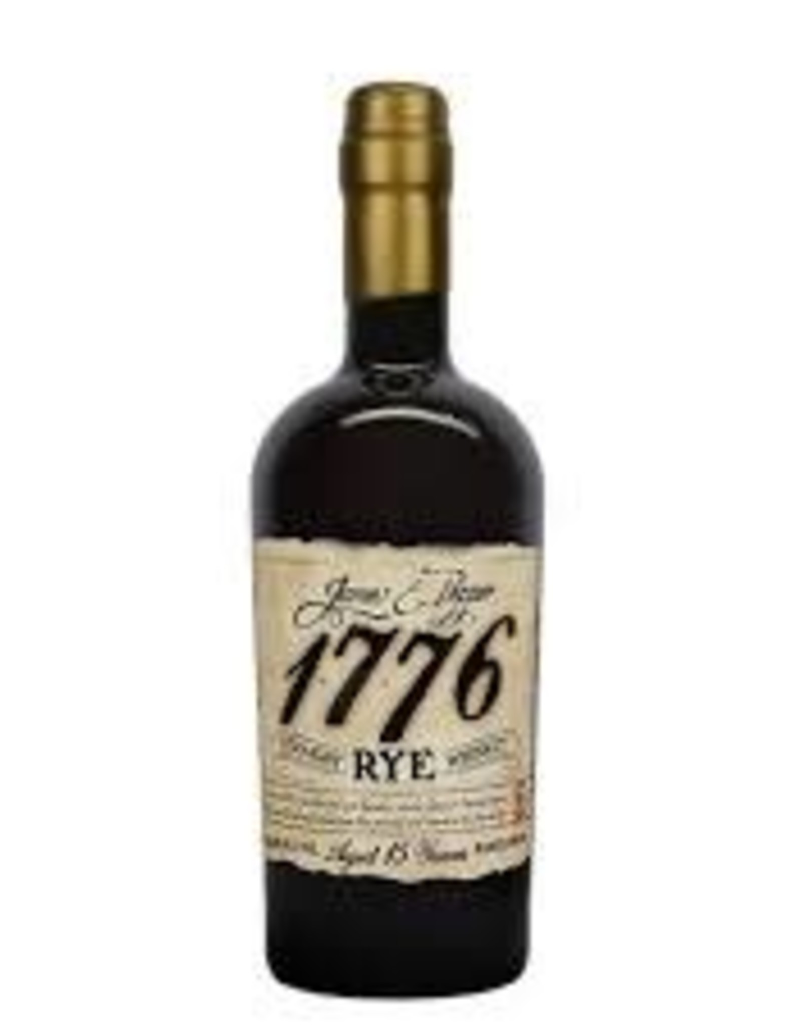 Rye Whiskey, '1776 - Aged 15 Years,' James E. Pepper