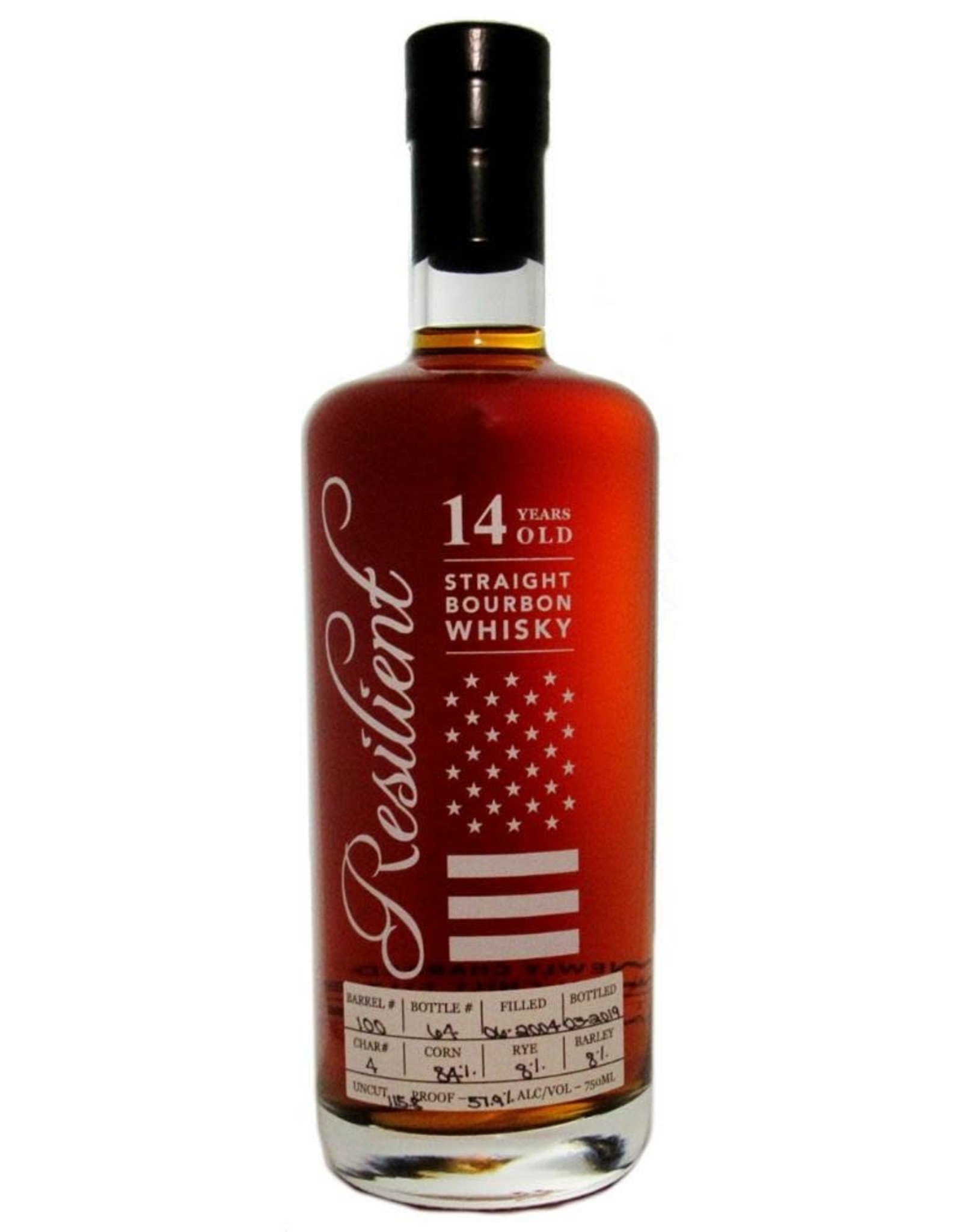 Spirits Bourbon Whiskey 14yr, Tennessee, Resilient (George Dickel)