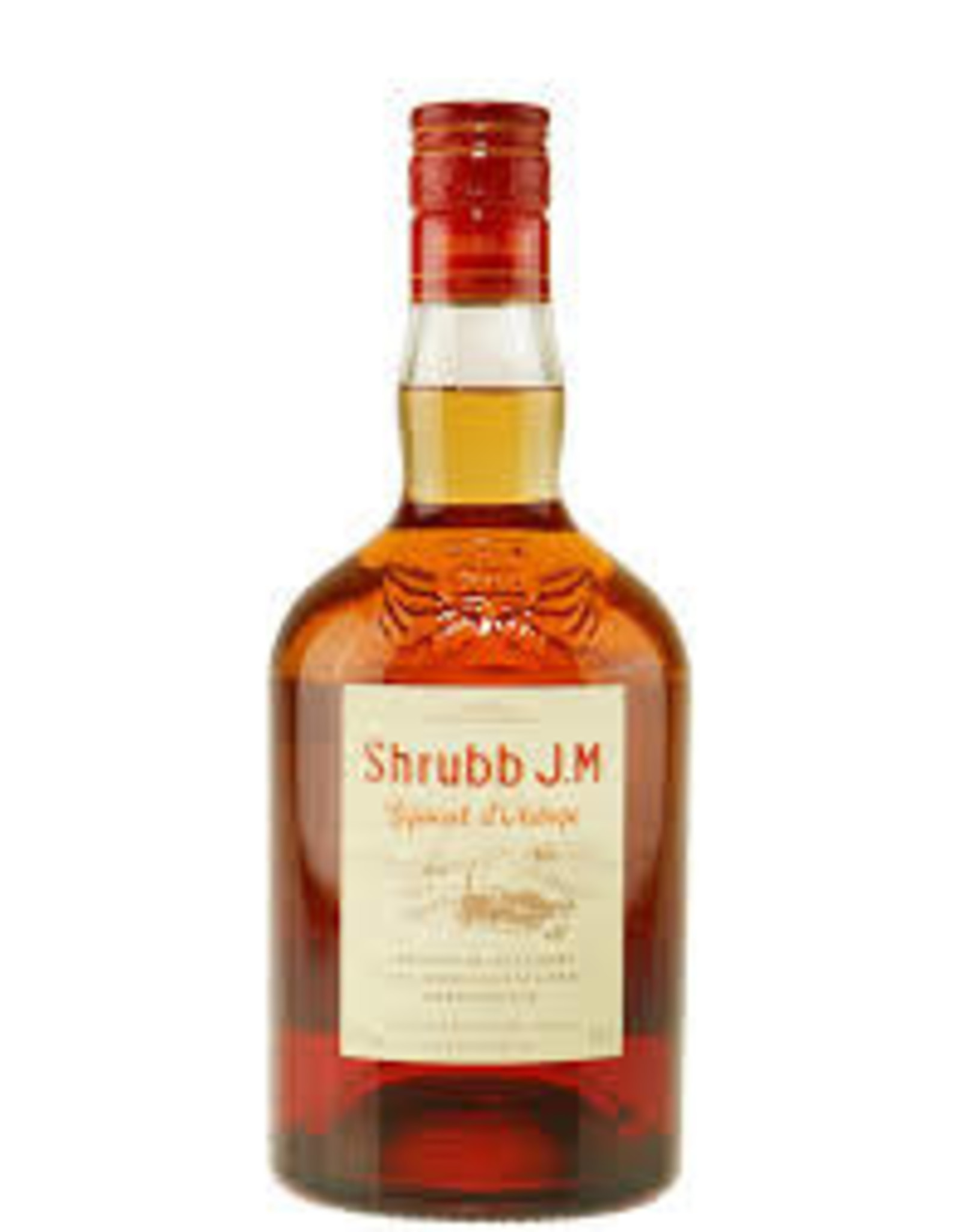 J.M Shrubb, Liqueur d'Orange, Martinique, Rhum J.M.