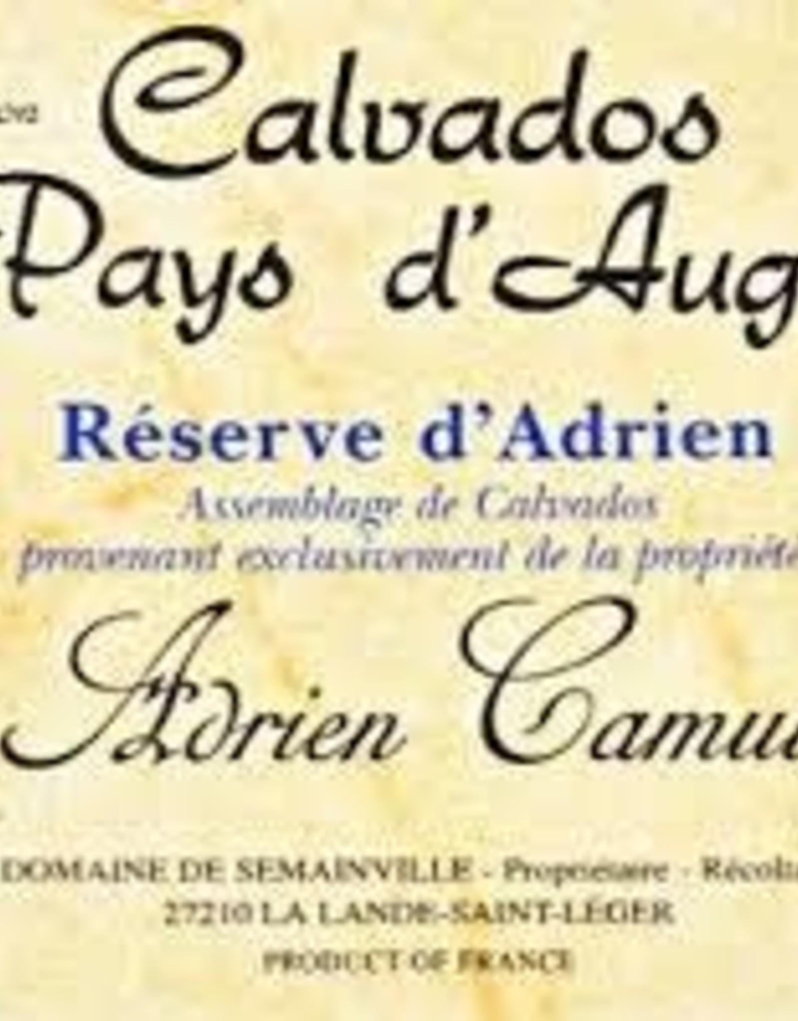 Spirits Calvados, Pays d'Auge, '35yr Old - Reserve d'Adrien', Calvados Adrien Camut