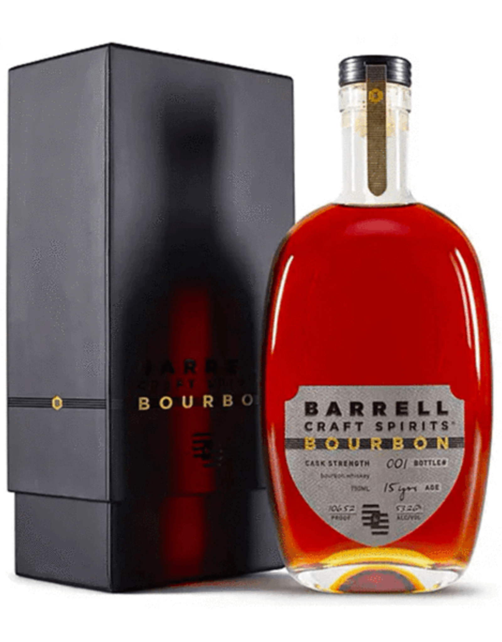 Spirits Bourbon Whiskey, 15YR, Barrell Bourbon