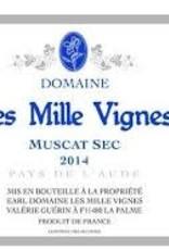 Muscat Sec, L'Aude, Les Mille Vignes 2012