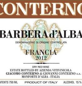 WIne-Red Barbera d'Alba, VIGNA FRANCIA, Giacomo Conterno 2017